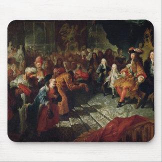 Louis XIV  receiving the Persian Ambassador Mouse Pad