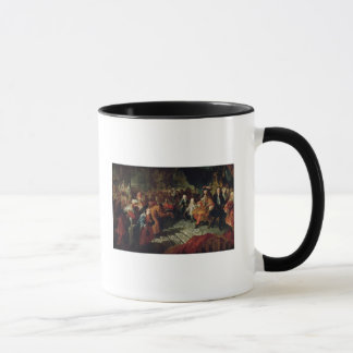Louis XIV  receiving the Persian Ambassador Mug