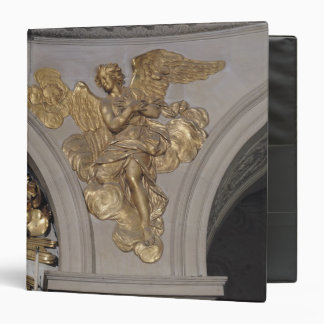Louis XIV style angel, from the arch to the 3 Ring Binder