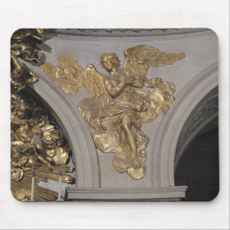 Louis XIV style angel, from the arch to the Mousepads