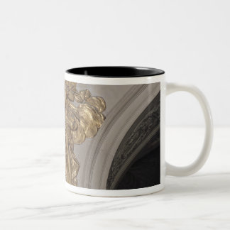 Louis XIV style angel, from the arch to the Two-Tone Coffee Mug