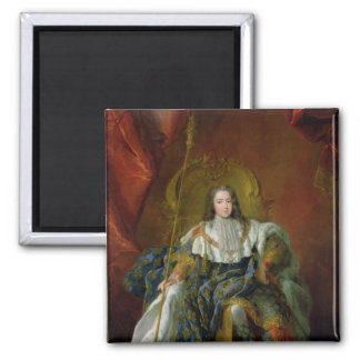 Louis XV  1723 2 Inch Square Magnet