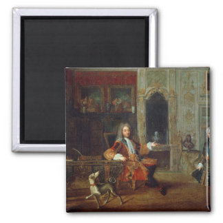 Louis XV  and the Regent, Philippe II Magnet