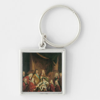 Louis XV  Granting Patents of Nobility Keychain