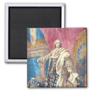 Louis XV  in Coronation Robes Magnet