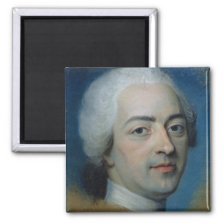 Louis XV  King of France and Navarre, after 1730 Magnet
