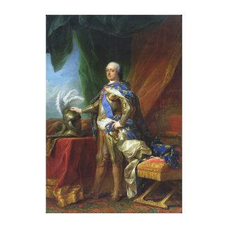 Louis XV  King of France & Navarre, 1750 Canvas Print