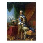 Louis XV  King of France & Navarre, 1750 Postcard