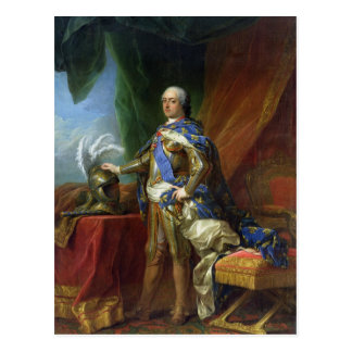 Louis XV  King of France & Navarre, 1750 Postcard