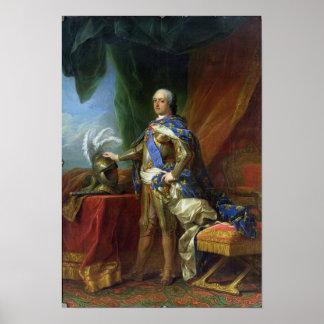 Louis XV  King of France & Navarre, 1750 Poster