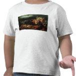 Louis XV que visita el campo de la batalla Camiseta