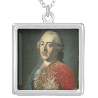 Louis XV Silver Plated Necklace