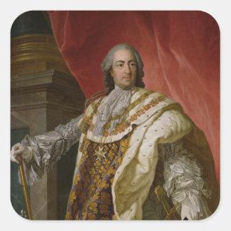 Louis XV Square Sticker