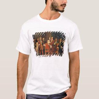 Louis XV  Visiting Peter I T-Shirt