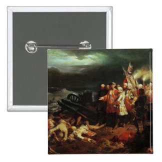 Louis XV  Visiting the Field of Battle Pinback Button
