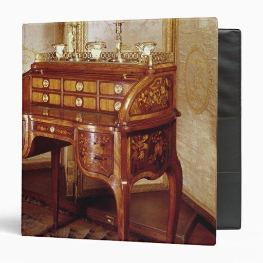 Louis XV Writing Desk Vinyl Binder