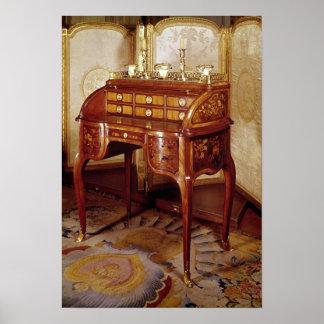 Louis XV Writing Desk Poster
