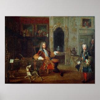 Louis XV y el regente, Felipe II Póster