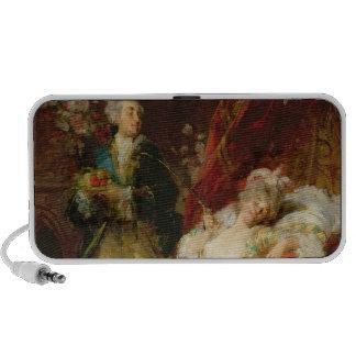 Louis XV y señora Dubarry Sistema Altavoz