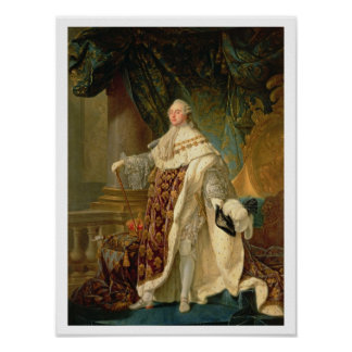 Louis XVI (1754-93) (aceite en lona) Poster