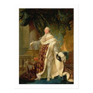 Louis XVI (1754-93) (aceite en lona) Tarjeta Postal