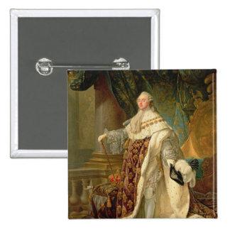 Louis XVI (1754-93) (oil on canvas) Button