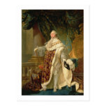 Louis XVI (1754-93) (oil on canvas) Post Cards