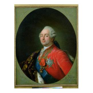 Louis XVI  1786 Postcard