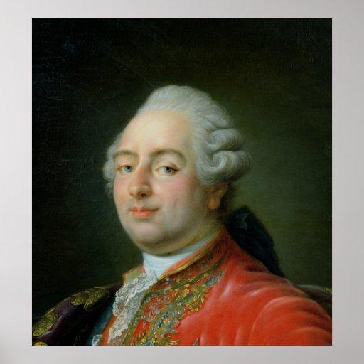 Louis XVI  1786 Poster