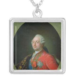 Louis XVI  1786 Silver Plated Necklace