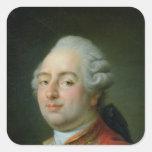 Louis XVI  1786 Square Sticker
