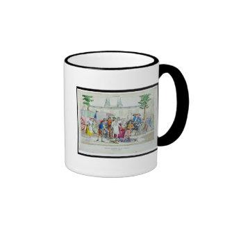 Louis XVI  and his family taken to the Temple Coffee Mug