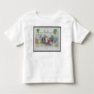 Louis XVI  and his family taken to the Temple Toddler T-shirt
