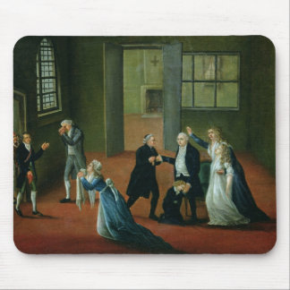 Louis XVI  Bidding Farewell to his Family Mouse Pad