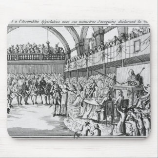 Louis XVI  declaring war on the 20th April 1792 Mouse Pad