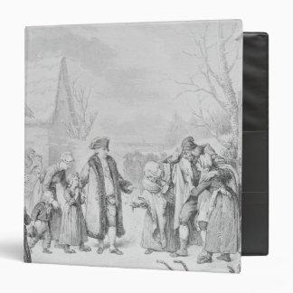 Louis XVI Distributing Alms Binder