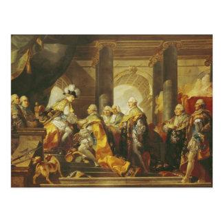 Louis XVI  King of France Postcard