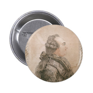 Louis XVI of France by Joseph Bernard 2 Inch Round Button