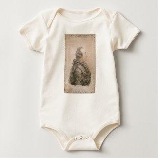Louis XVI of France by Joseph Bernard Baby Bodysuit