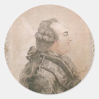 Louis XVI of France by Joseph Bernard Classic Round Sticker