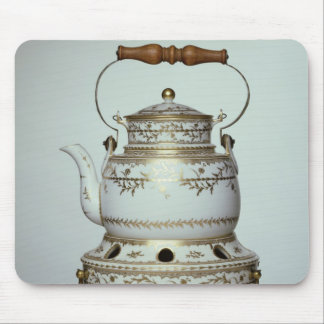 Louis XVI porcelain kettle and stand made in Mouse Pad