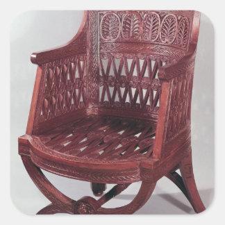 Louis XVI style armchair Square Sticker