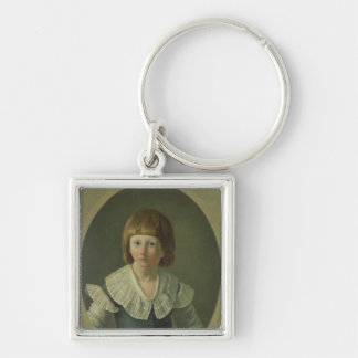 Louis XVII  aged 8, at the Temple, 1793 Keychain