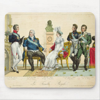 Louis XVIII  and his Family Mouse Pad