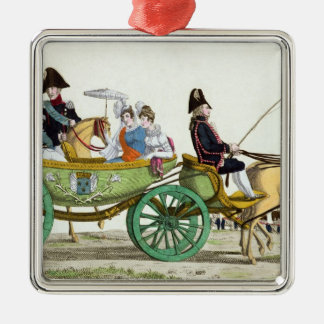 Louis XVIII  and his Family Christmas Ornament