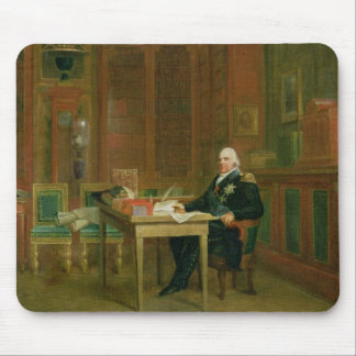 Louis XVIII  in his Study at the Tuileries Mouse Pad