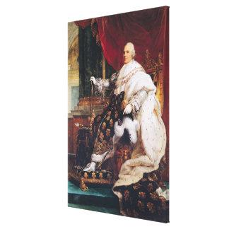 Louis XVIII Lona Envuelta Para Galerias