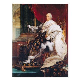 Louis XVIII Postcard