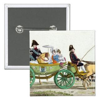 Louis XVIII y su familia Pin Cuadrado