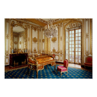 Louis XV's Private Study, 1753-60 Poster